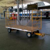 Chariot à Bagages en gare de Lourdes