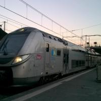Autorail Régio 2N arrivant en gare de Bordeaux