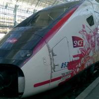 Motrice du nouveau TGV l'Océane