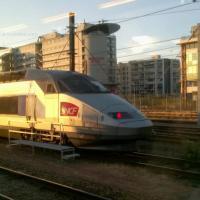 TGV en gare de Tours