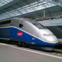 TGV Duplex en gare de Bordeaux