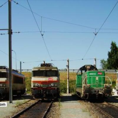 BB 7434,BB 7349 et BB 69213 de L'Up traction d'HDE