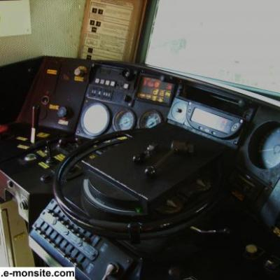 Poste de conduite de la BB 7386