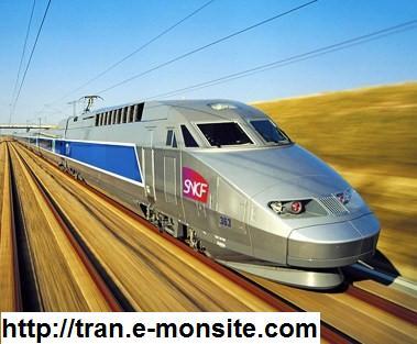 En quelle année a était mis en service la 1er rame TGV de série?