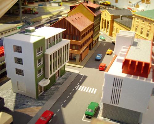 Centre ville en cours de réalisation