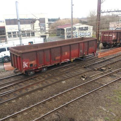 Déraillement d'un wagon à Hourcade